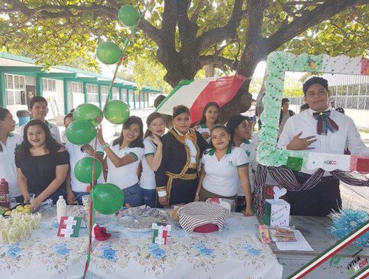 verbena en plantel Cd. del  Carmen