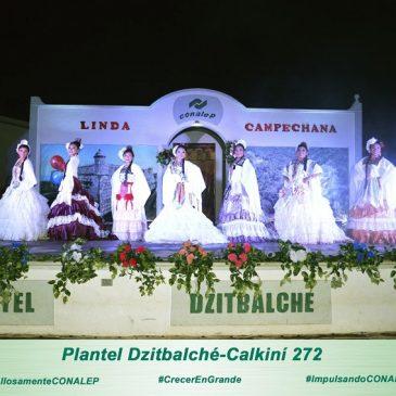 "ELIGEN ""LINDA CAMPECHANA"" EN EL PLANTEL ""DZITBALCHÉ-CALKINÍ"""