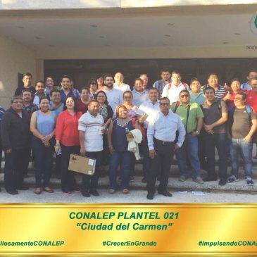 "DOCENTES DEL PLANTEL ""CD. DEL CARMEN"" CONCLUYEN CURSO PARA USO DE CHROMEBOOKS."