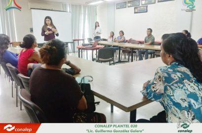 """Cierre del Taller """"Escuela para Padres"""" en plantel """"Lic. Guillermo González Galera"""" 020"""