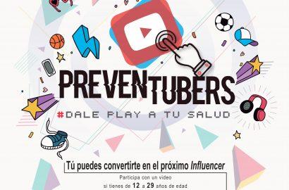 "Concurso Nacional 2018 ""Preventubers: Dale Play a tu Salud"""