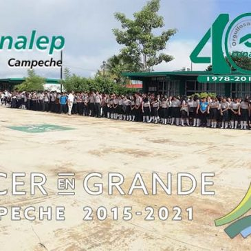 Plantel Dzitbalché-Calkiní cumple XVIII años de estar formando Profesionales Técnicos Bachilleres