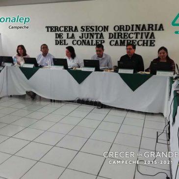 Tercera Sesión Ordinaria de la Junta Directiva