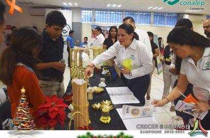 """Expo Empresarial 2018 en el plantel """"Lic. Guillermo González Galera"""""""