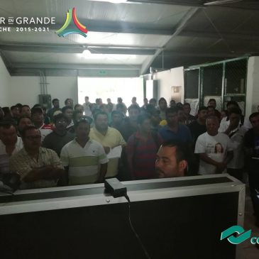 """Curso """"Actualización de Técnica"""" a alumnos de la Carrera de PTB en Electromecánica y población abierta en Plantel Cd. del Carmen."""