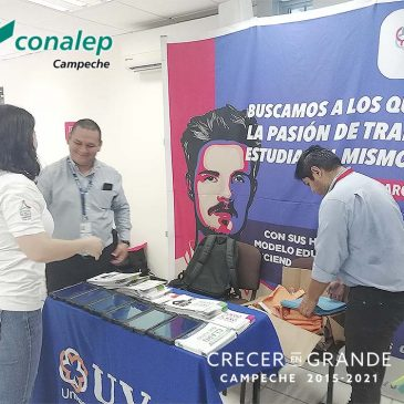 """""""Feria Vocacional 2019"""" en el Plantel """"Lic. Guillermo González Galera"""""""