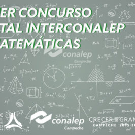 """""""1er. Concurso Estatal Interconalep de Matemáticas"""""""